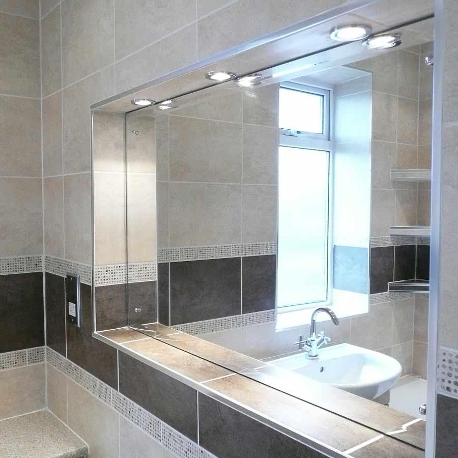 bathroom mirror inset BASCS