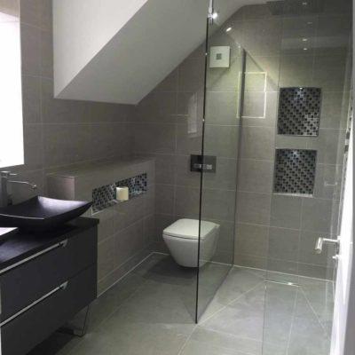 bathroom shower walkin wetroom