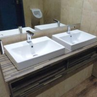 bathroom - Double sink and tap swindon