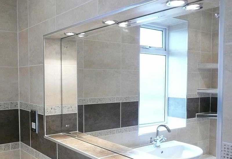 bascs steam free bathroom mirror