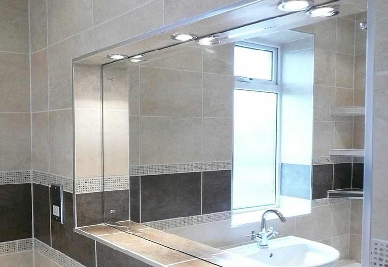 bascs steam free bathroom mirror