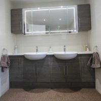 Bathroom mirror by BASCS Swindon