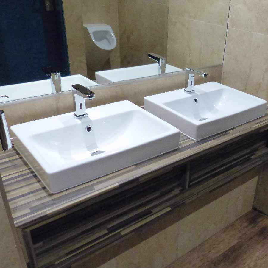 bathroom sink and tap, BASCS Swindon
